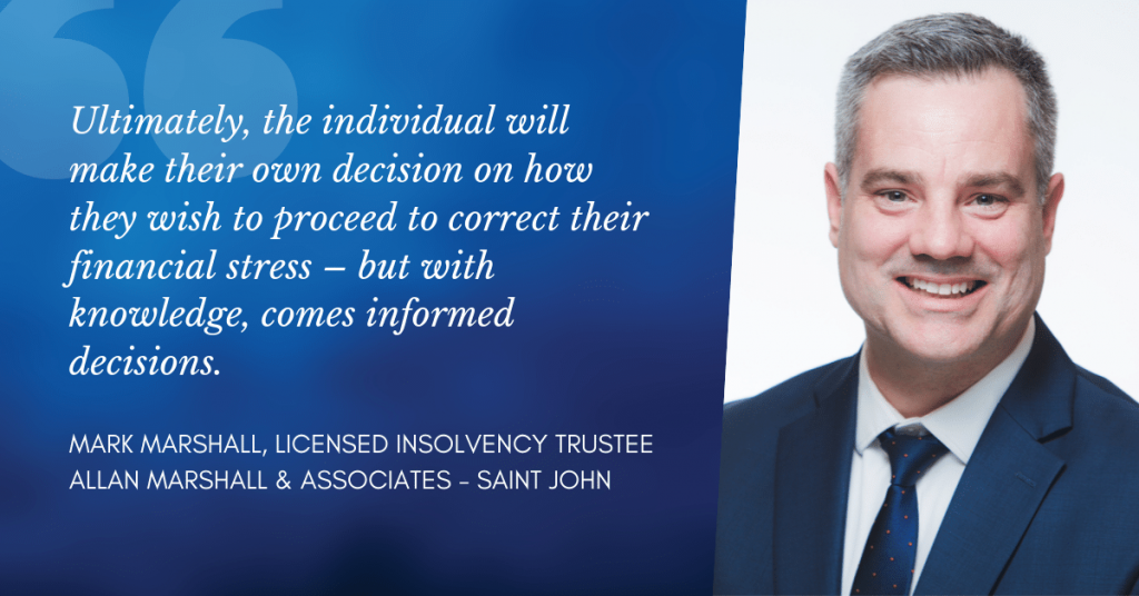 Mark Marshall - Saint John Licensed Insolvency Trustee
