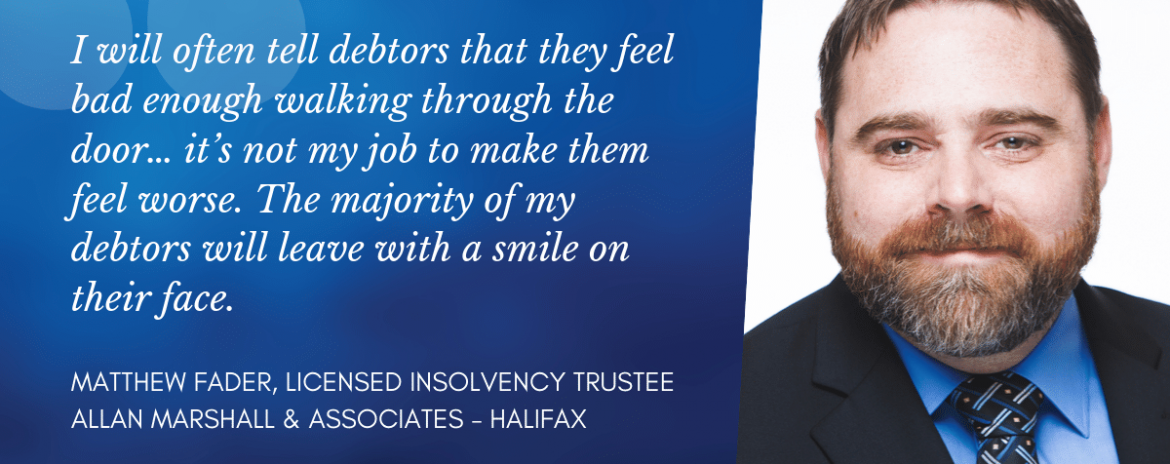 Matthew Fader - Halifax Licensed Insolvency Trustees